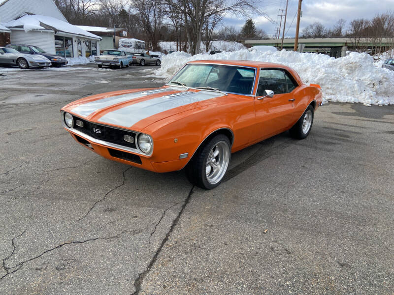 1968 Chevrolet Camaro for sale at Clair Classics in Westford MA