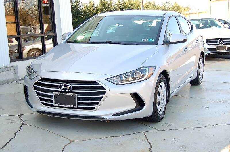 2017 Hyundai Elantra for sale at Avi Auto Sales Inc in Magnolia NJ