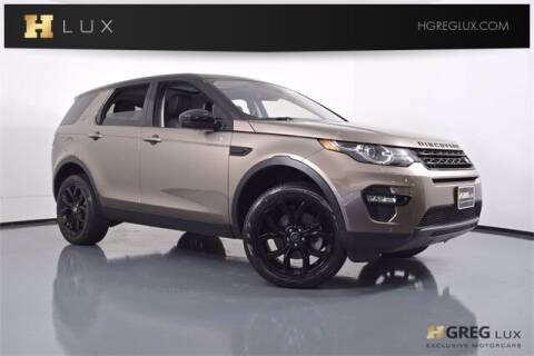 2017 Land Rover Discovery Sport for sale at HGREG LUX EXCLUSIVE MOTORCARS in Pompano Beach FL