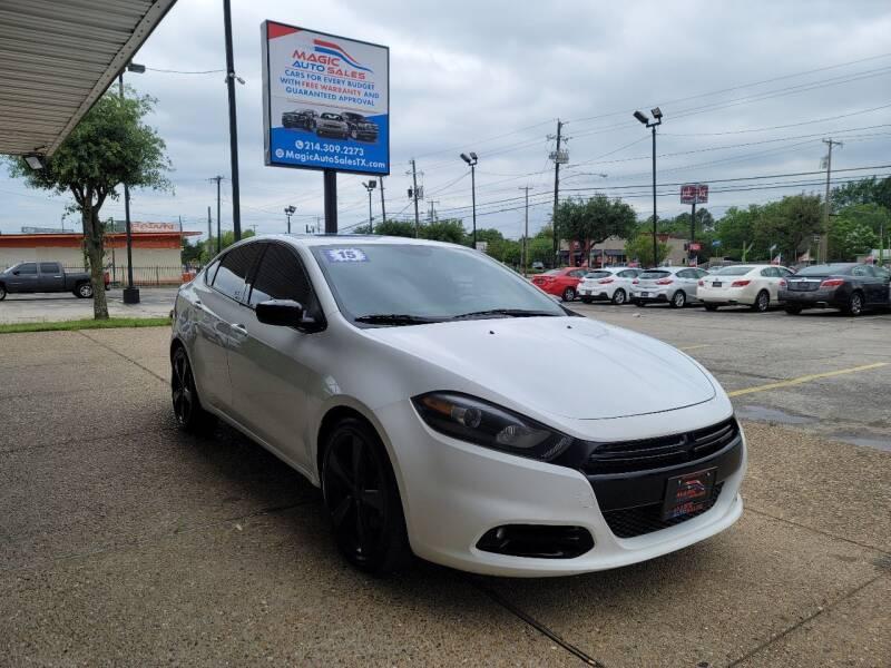 2015 Dodge Dart for sale at Magic Auto Sales in Dallas TX