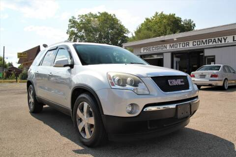 2010 GMC Acadia for sale at Precision Motor Company LLC in Cincinnati OH