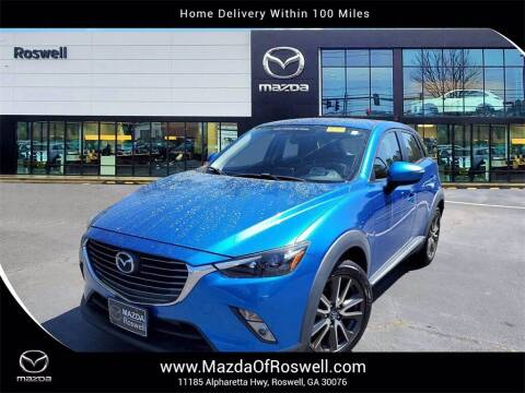 2017 Mazda CX-3 for sale at Mazda Of Roswell in Roswell GA