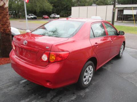 2010 Toyota Corolla for sale at Affordable Auto Motors in Jacksonville FL