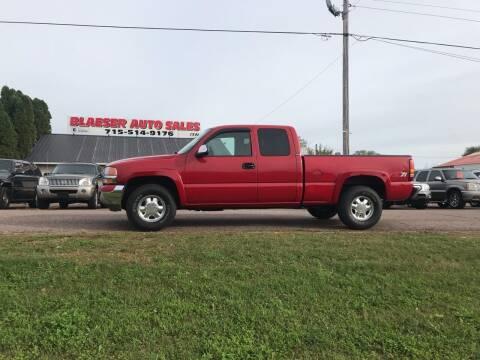 2002 GMC Sierra 1500 for sale at BLAESER AUTO LLC in Chippewa Falls WI
