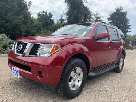 2005 Nissan Pathfinder for sale at Santa Barbara Auto Connection in Goleta CA
