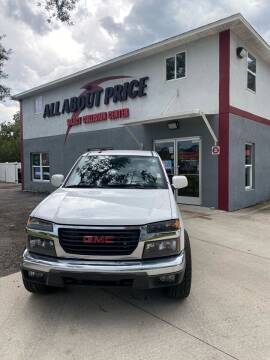 2012 GMC Canyon for sale at All About Price in Bunnell FL