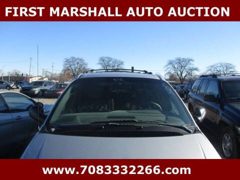 2002 Chrysler Town and Country for sale at First Marshall Auto Auction in Harvey IL