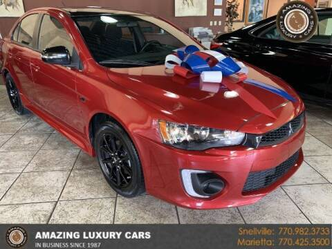 2017 Mitsubishi Lancer for sale at Amazing Luxury Cars in Snellville GA