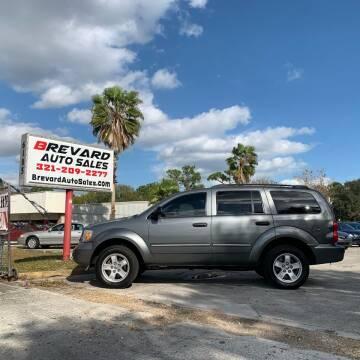 2008 Dodge Durango for sale at Brevard Auto Sales in Palm Bay FL