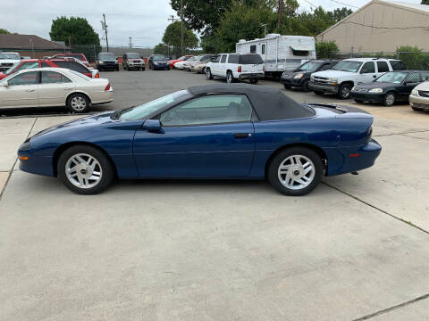1995 Chevrolet Camaro for sale at Mike's Auto Sales of Charlotte in Charlotte NC