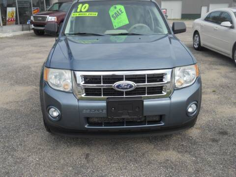 2010 Ford Escape for sale at Shaw Motor Sales in Kalkaska MI