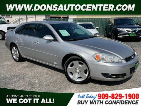 2008 Chevrolet Impala for sale at Dons Auto Center in Fontana CA