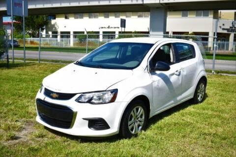 2020 Chevrolet Sonic for sale at ELITE MOTOR CARS OF MIAMI in Miami FL