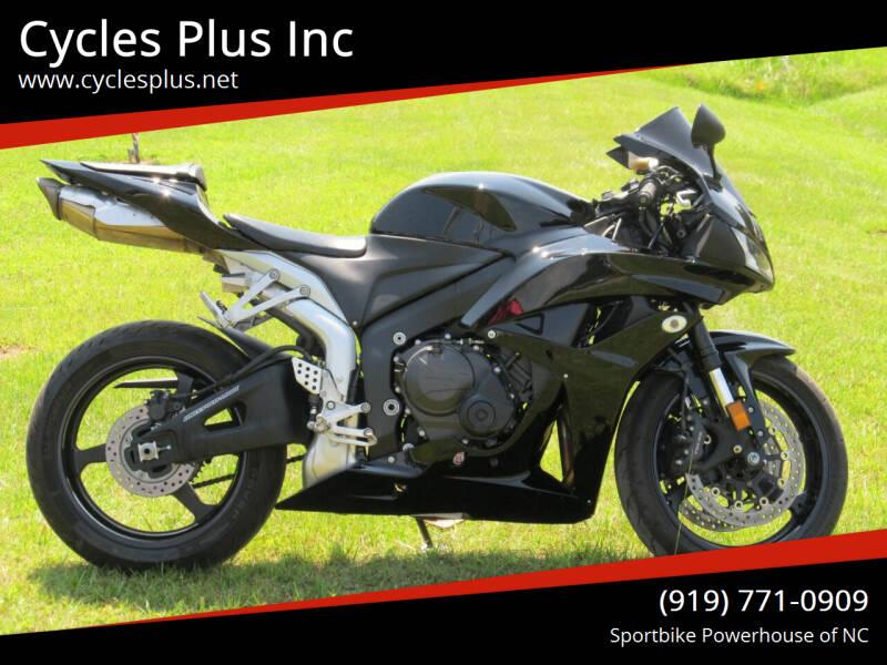 2008 Honda CBR600RR for sale at Cycles Plus Inc in Garner NC