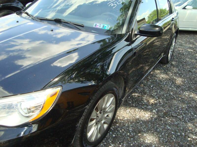 2012 Chrysler 200 for sale at Branch Avenue Auto Auction in Clinton MD