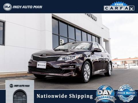 2017 Kia Optima for sale at INDY AUTO MAN in Indianapolis IN
