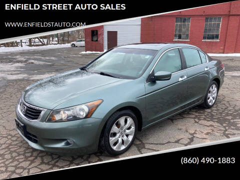 2008 Honda Accord for sale at ENFIELD STREET AUTO SALES in Enfield CT