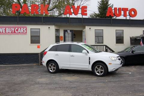 2012 Chevrolet Captiva Sport for sale at Park Ave Auto Inc. in Worcester MA