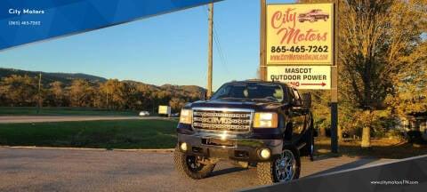 2011 GMC Sierra 2500HD for sale at City Motors in Mascot TN