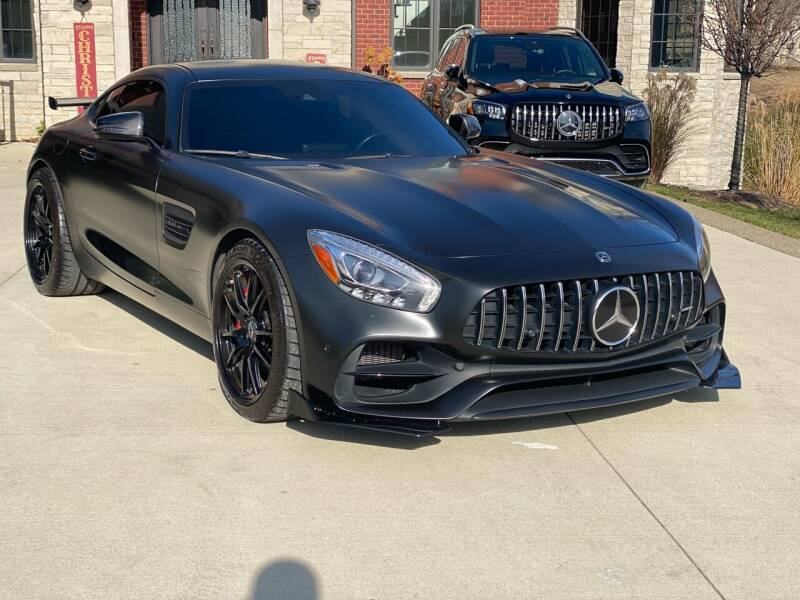 2018 Mercedes-Benz AMG GT for sale at My Town Auto Sales in Madison Heights MI