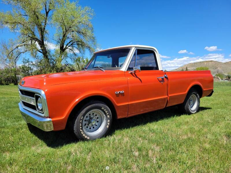 1969 Chevrolet C/K 10 Series for sale at A & B Auto Sales in Ekalaka MT
