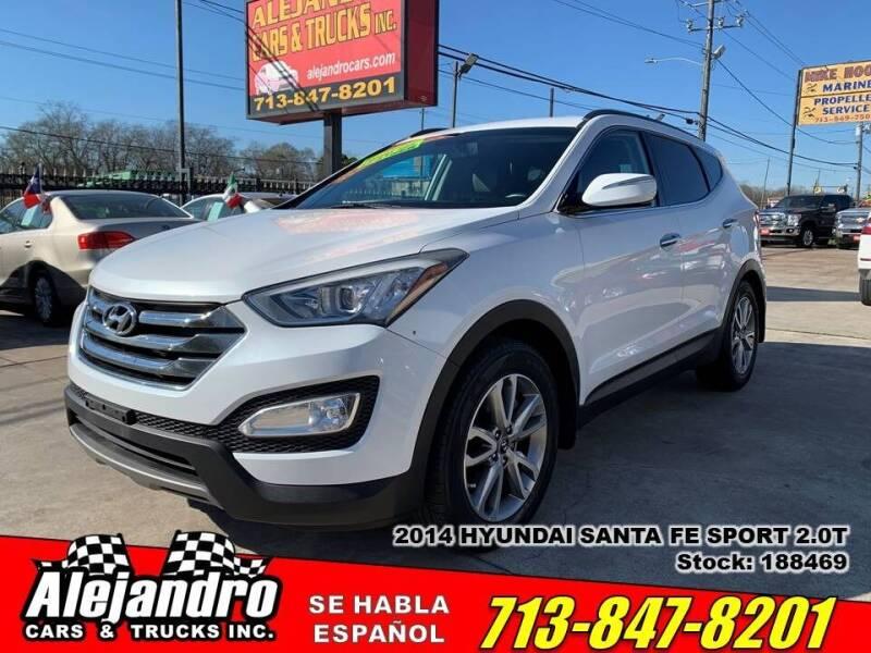 2014 Hyundai Santa Fe Sport for sale at Alejandro Cars & Trucks Inc in Houston TX