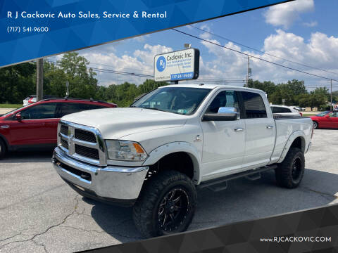 2014 RAM Ram Pickup 2500 for sale at R J Cackovic Auto Sales, Service & Rental in Harrisburg PA