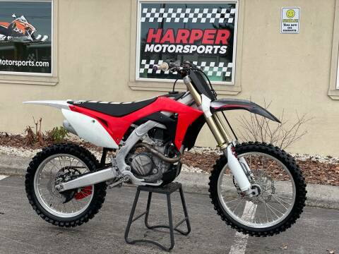 2018 Honda CRF450R Electric Start for sale at Harper Motorsports-Powersports in Post Falls ID