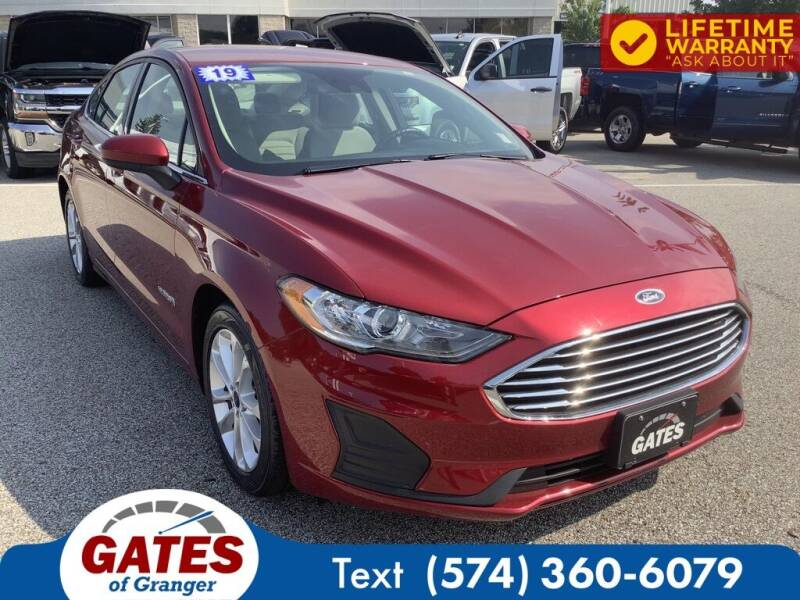 2019 Ford Fusion Hybrid for sale in Granger, IN