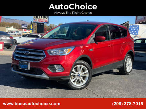 2017 Ford Escape for sale at AutoChoice in Boise ID