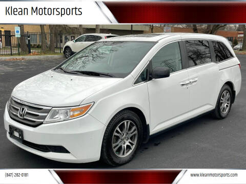 2013 Honda Odyssey for sale at Klean Motorsports in Skokie IL