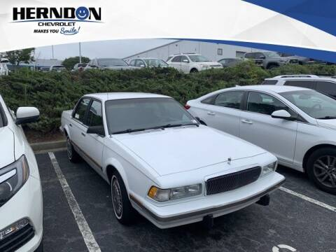 1996 Buick Century for sale at Herndon Chevrolet in Lexington SC