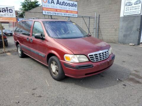 1999 Chevrolet Venture for sale at O A Auto Sale in Paterson NJ