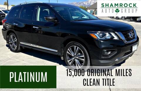 2018 Nissan Pathfinder for sale at Shamrock Group LLC #1 in Pleasant Grove UT