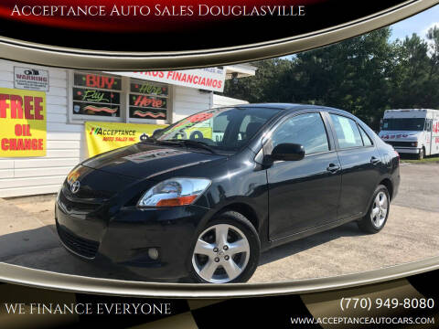 2008 Toyota Yaris for sale at Acceptance Auto Sales Douglasville in Douglasville GA