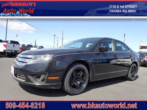 2011 Ford Fusion for sale at Bruce Kirkham Auto World in Yakima WA