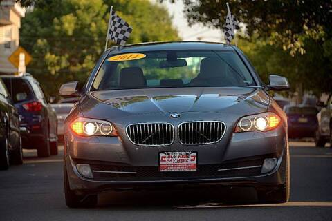 2012 BMW 5 Series for sale at Buy Here Pay Here Auto Sales in Newark NJ