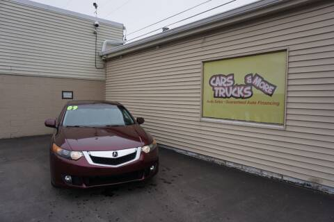 2009 Acura TSX for sale at Cars Trucks & More in Howell MI