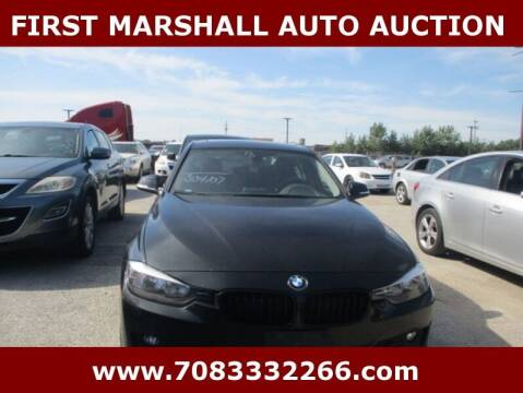 2013 BMW 3 Series for sale at First Marshall Auto Auction in Harvey IL