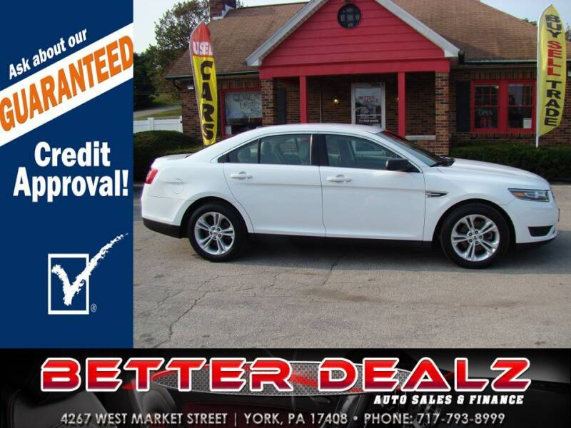 2017 Ford Taurus for sale at Better Dealz Auto Sales & Finance in York PA