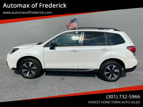 2017 Subaru Forester for sale at Automax of Frederick in Frederick MD