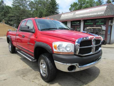 2006 Dodge Ram Pickup 2500 for sale at Perfection Auto Detailing & Wheels in Bloomington IL