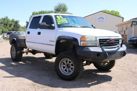 2004 GMC Sierra 2500 for sale at Northern Colorado auto sales Inc in Fort Collins CO