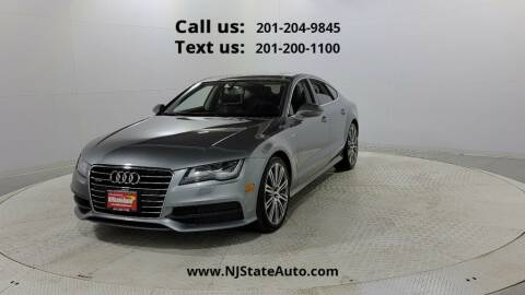 2014 Audi A7 for sale at NJ State Auto Used Cars in Jersey City NJ
