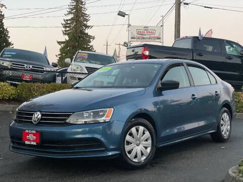 2016 Volkswagen Jetta for sale at Real Deal Cars in Everett WA