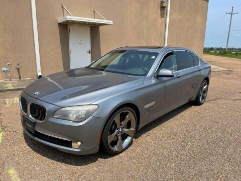 2011 BMW 7 Series for sale at The Auto Toy Store in Robinsonville MS