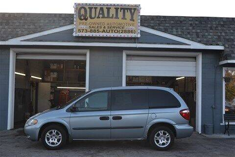 2003 Dodge Caravan for sale at Quality Pre-Owned Automotive in Cuba MO
