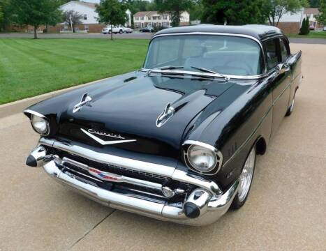 1957 Chevrolet Bel Air for sale at WEST PORT AUTO CENTER INC in Fenton MO