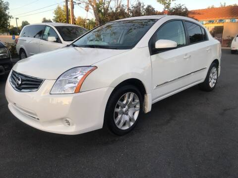 2012 Nissan Sentra for sale at MIKE AHWAZI in Santa Ana CA