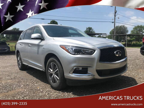 2020 Infiniti QX60 for sale at Americas Trucks in Jones OK